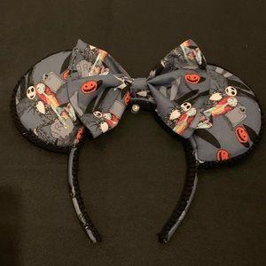 Nightmare Before Christmas Minnie Ears, Halloween